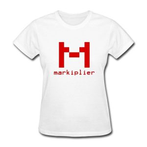 Markiplier Logo Women's T-Shirt Korean Harajuku O-Neck Short Sleeve