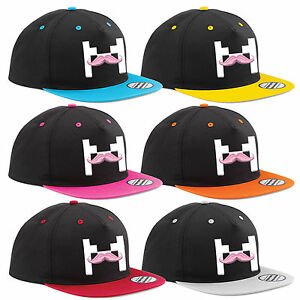 Markiplier Snapback Hat The Mustache Mine Cart Youtube Adjustable PREMIUM Cap