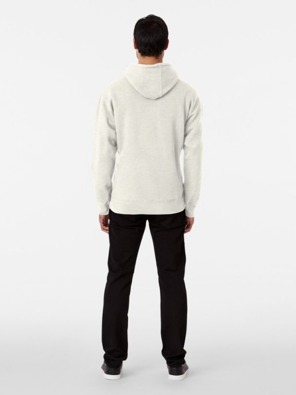 Mark&Jack Pullover Hoodie White Color