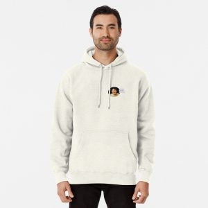 Markiplier Merch texts Pullover Hoodie White Color
